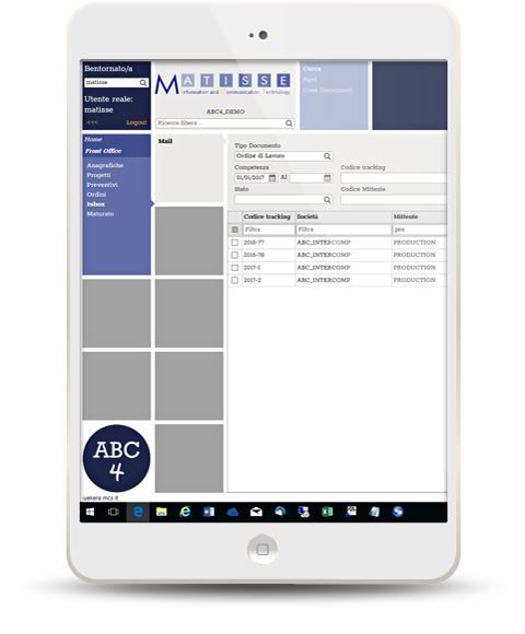 Matisse - Soluzioni - Web Agency